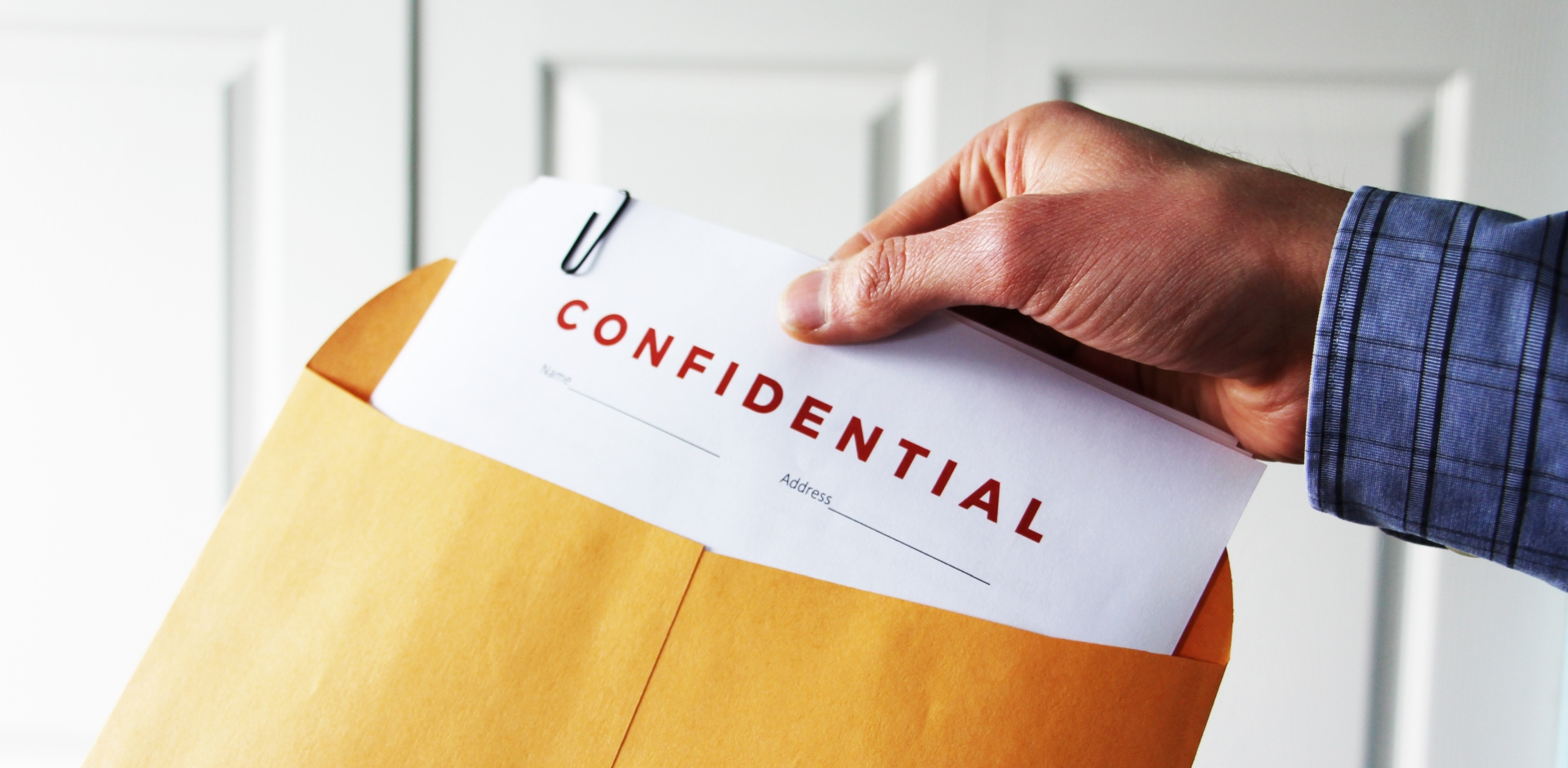 PHIPA Confidential information in the envelope